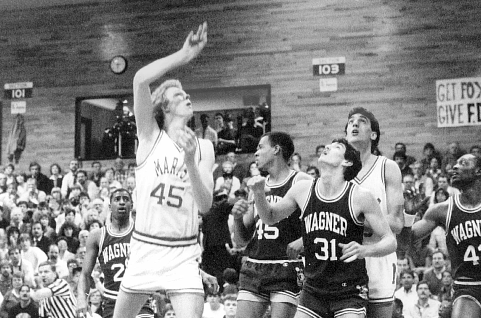 Rik Smits Elected To NEC Hall of Fame Marist College Athletics