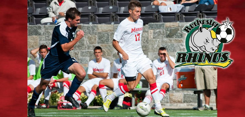 Josh Faga Signs Professional Contract With Rochester Rhinos - Marist College Athletics