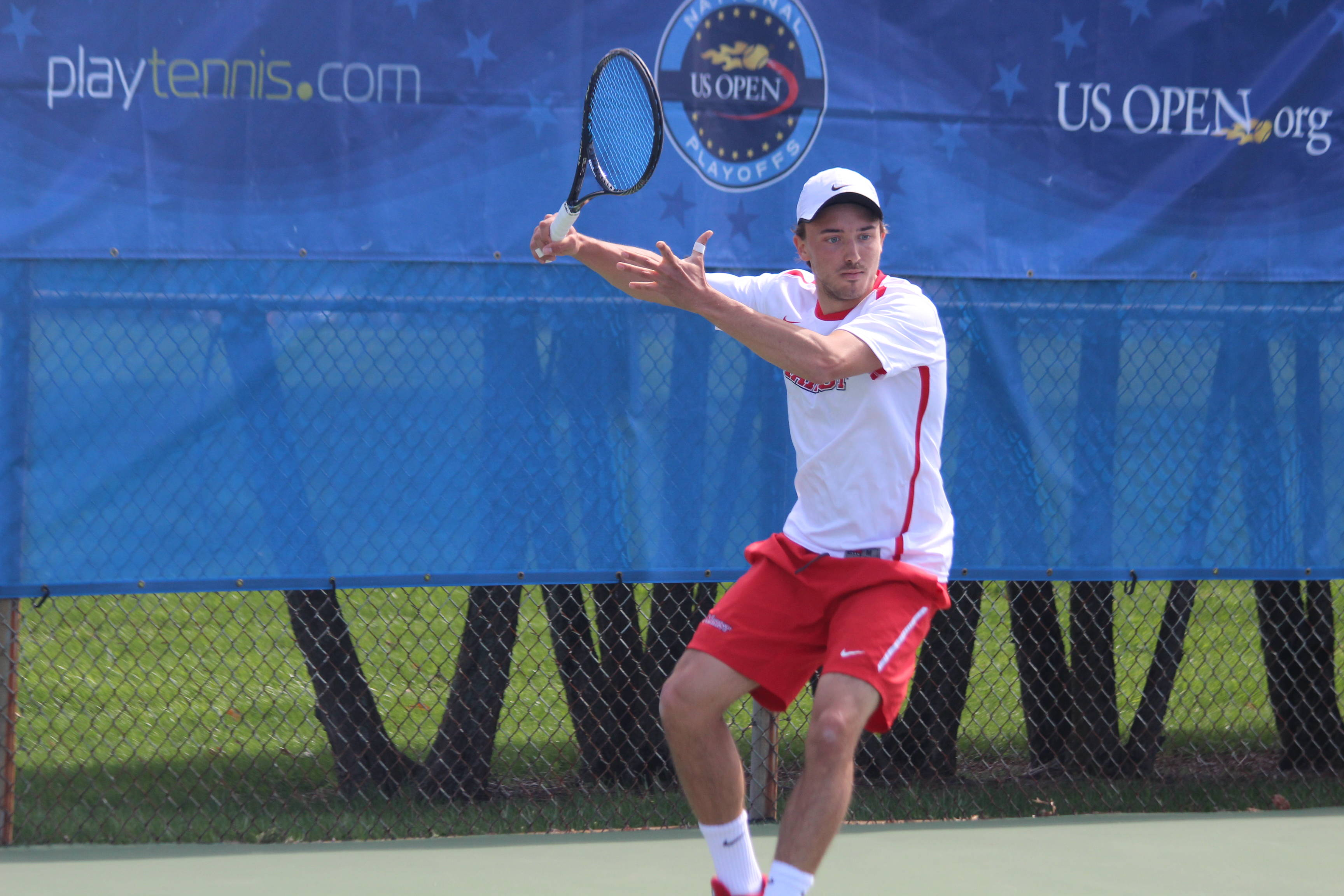 Men S Tennis Wraps Up Day One At The Yale Invitational Marist